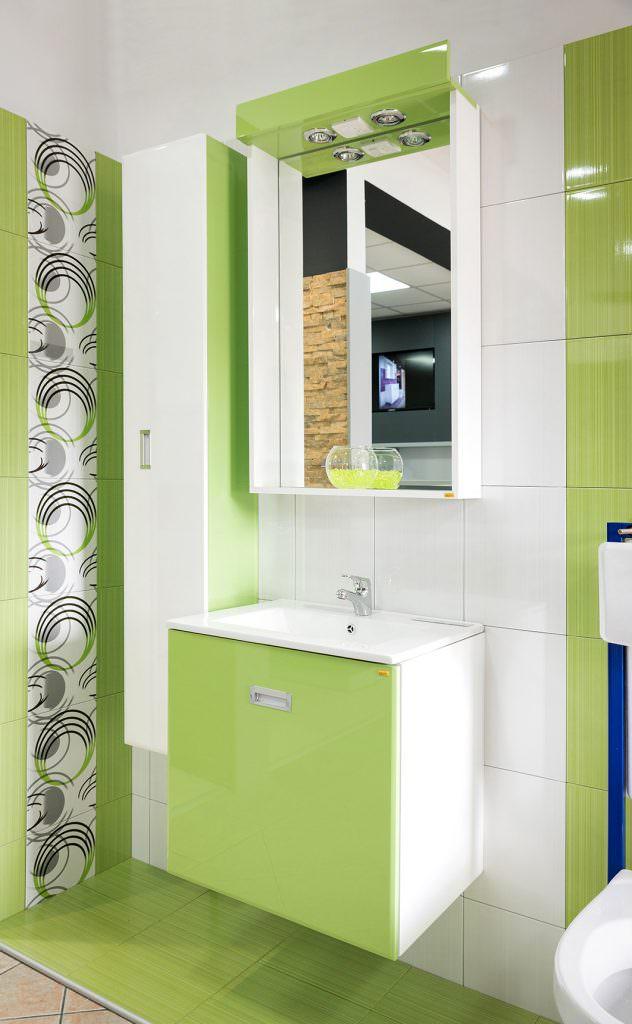 Kupatilski nameštaj LUX K 60 - Pistacio