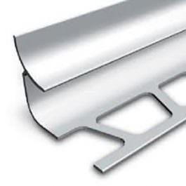 Unutrašnja lajsna 10mm srebro mat