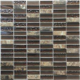 Mozaik Crystal Line Brown