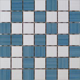 Mozaik Ramona White-Blue 25×25