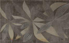 Inserto Glamur Flower Gray 25×40