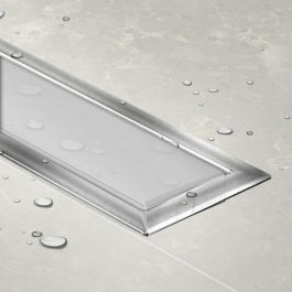 Slivnik Confluo Premium LINE 650 belo staklo