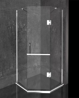 Tuš kabina Diamond 90×90 hrom/prozirna