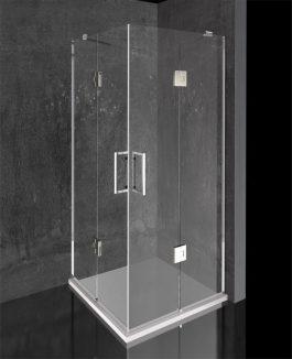 Tuš kabina Kapri 90×90 hrom/prozirna