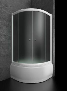 Tuš kabina Bjanka R90 duboka belo/mat