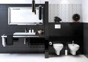 Декори, инсерта и листеле купатило красе