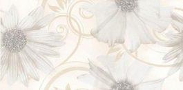 Sabro Bianco Inserto Kwiat 29,5×59,5