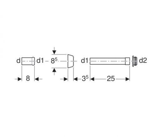 Kombifix PrikljuČna Izlivna Cev 3