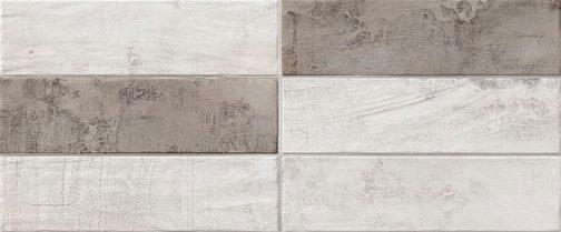 Pietra Grigio White Bricks 25x60