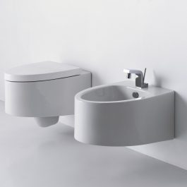 Boing wc šolja sa SS daskom i bide (komplet, konzolni)