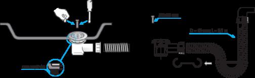 sifon montaža s00039