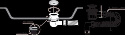 sifon montaža s11453