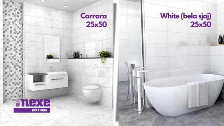 carrara 25x50